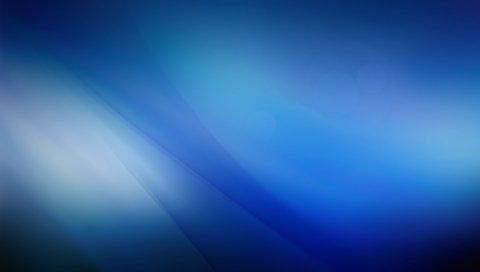 Синий фон, волна, аннотация