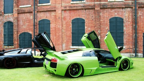 Lamborghini, murcielago, суперкар, asanti, тюнинг