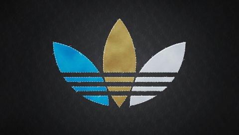 адидас, логотип, оригиналы