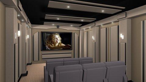 кино, мебель, телевизор, стулья