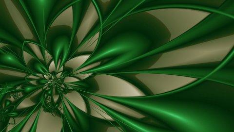 аннотация, фон, цвет, цветок, зеленый