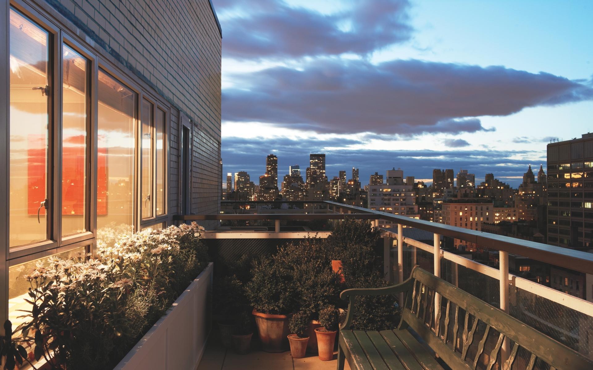 Картинки интерьер, дизайн, стиль, мегаполис, городская квартира, жилая площадь, балкон фото и обои на рабочий стол