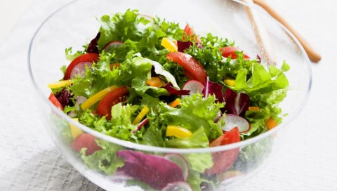 Овощи, салаты, мясо, зелень