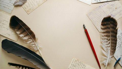 Марочные, ручки, написание, бумага