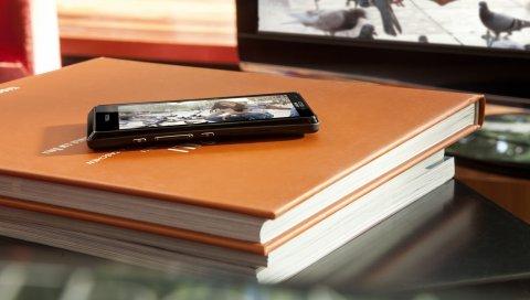 сони, мобильный, Xperia, книги, телевизор, мобильный телефон