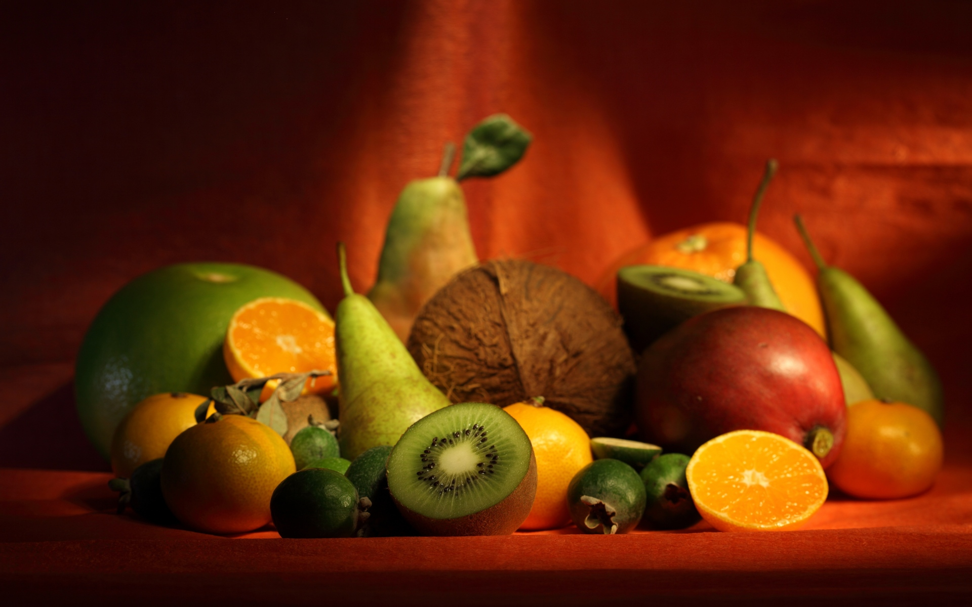 Картинки ягоды, бананы, фрукты, аппетит фото и обои на рабочий стол