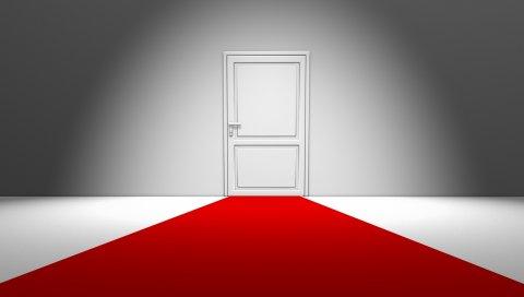 дверь, стиль, минимализм, дом, комната, творческий