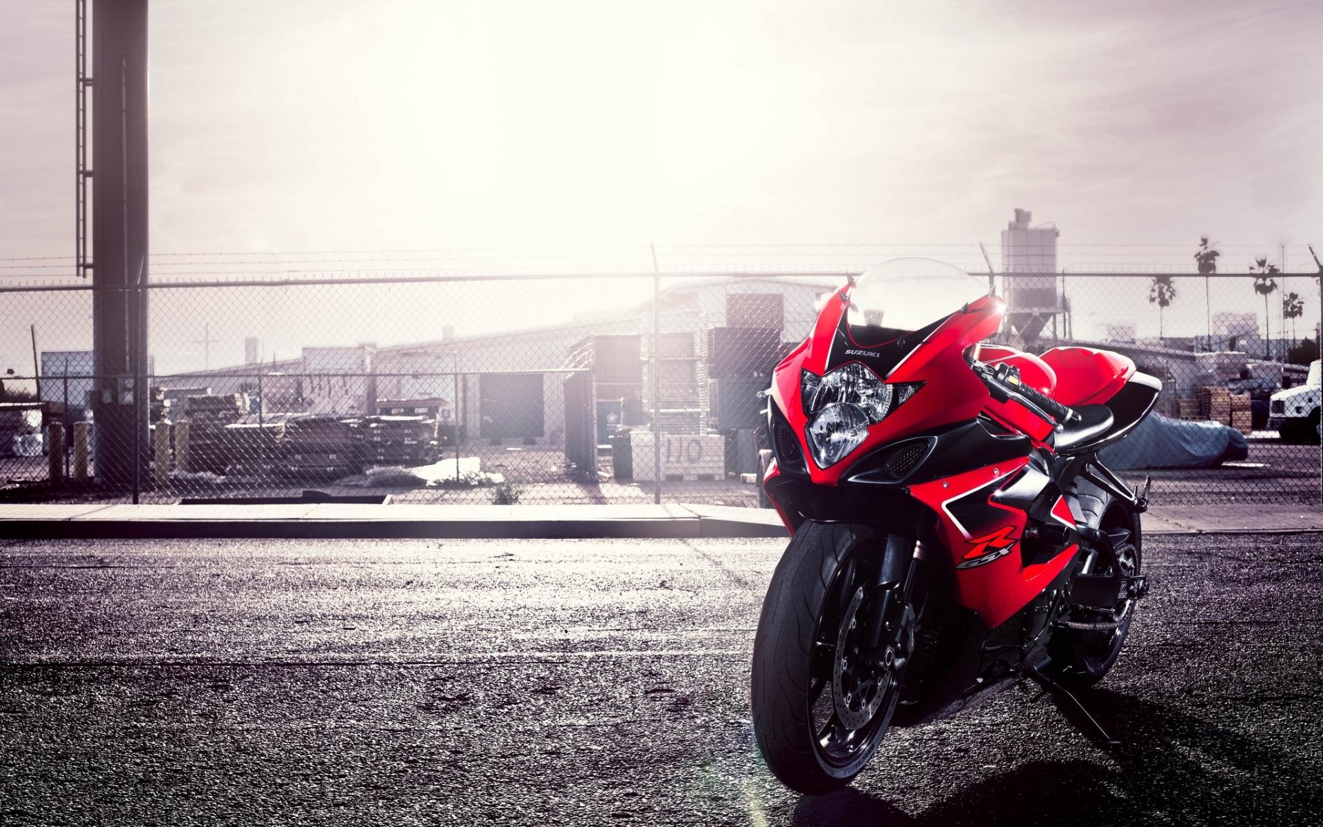 Картинки GSX-R, Судзуки, мотоцикл, красный, 1000 фото и обои на рабочий стол