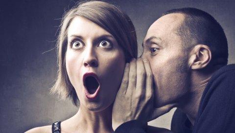 мужчины, женщины, шепоты, ухо, информация, удивление, Roth, ситуации