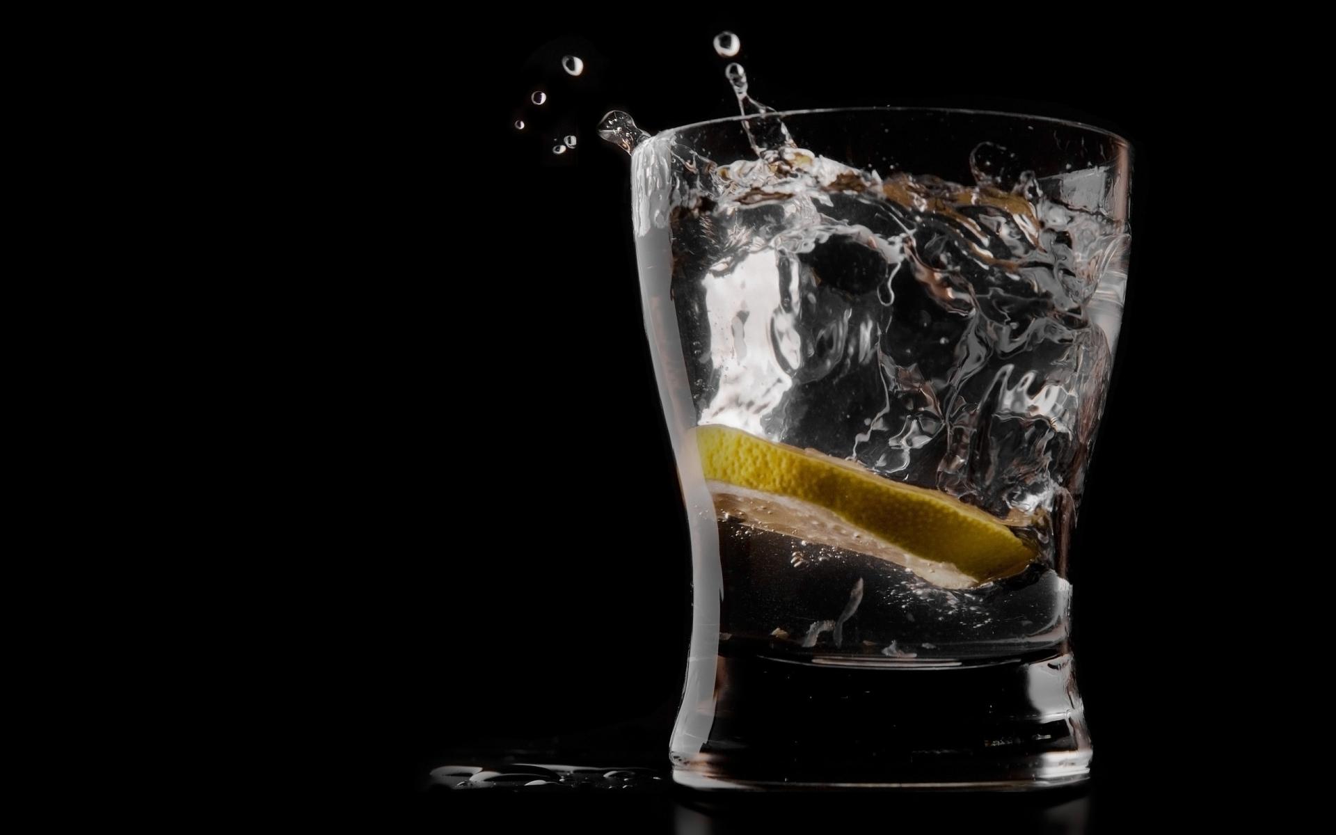Картинки лимон , лед, напиток фото и обои на рабочий стол