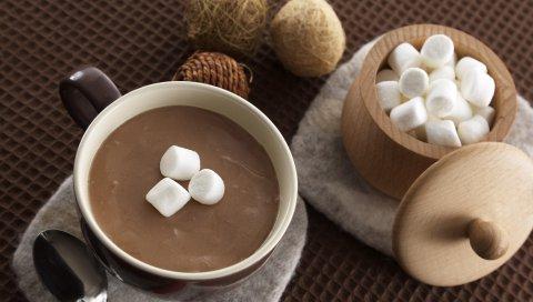 какао , горячие шоколад