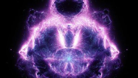 фон, свечение, неон, образуют
