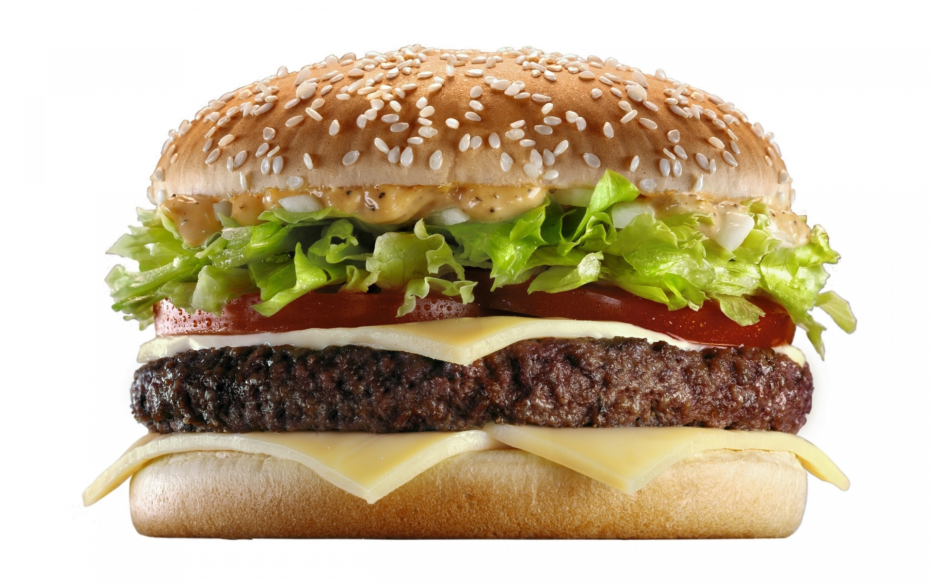 Картинки Чизбургер, гамбургер, сыр, булочка фото и обои на рабочий стол
