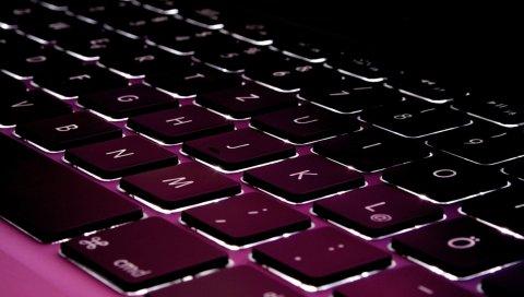 Клавиатура, текст, яблочная клавиатура, буквы