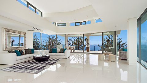 Комната, гостиная, мебель, белый, интерьер