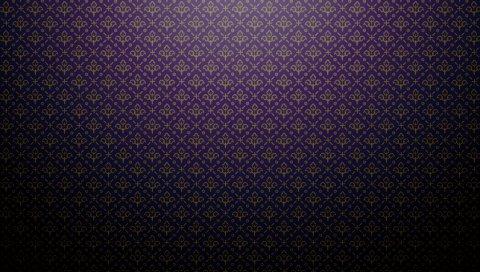 Фиолетовый, темный, узоры, тени