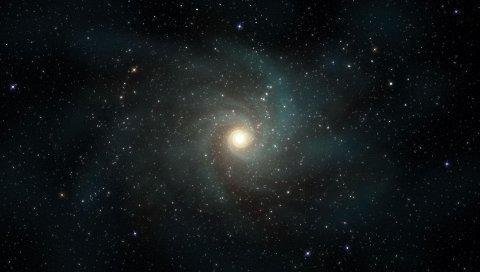 Звезды, галактики, вращение, вселенная