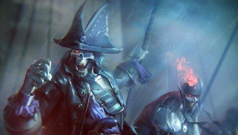 Нежить, пираты, дождь