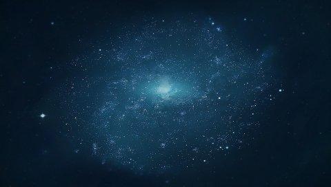 Вселенная, галактика, звезды, свет
