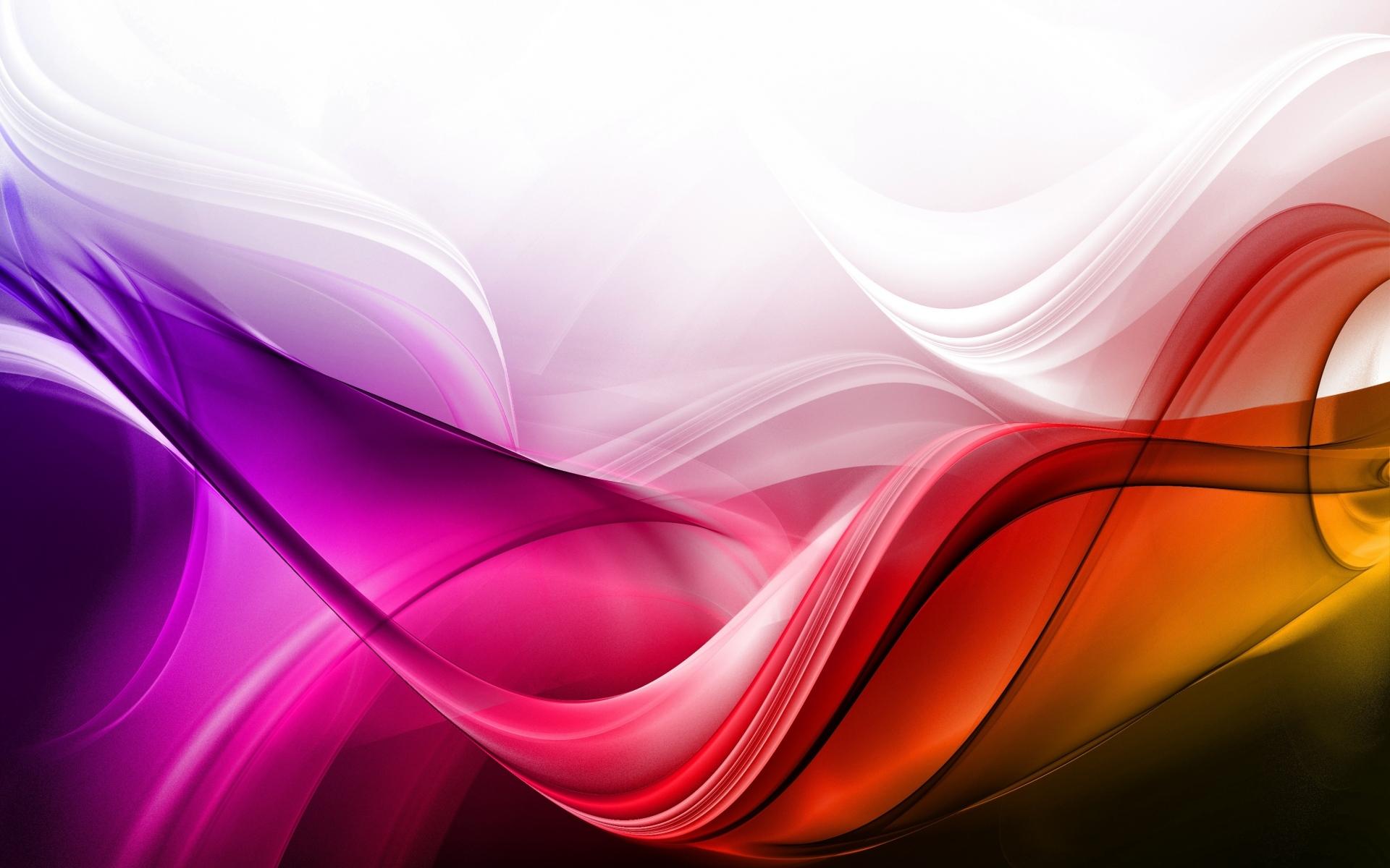 Картинки Волны, фон, красочные, линии фото и обои на рабочий стол