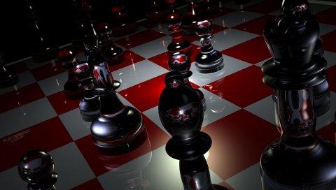 Штук, шахматы, доски, стекло