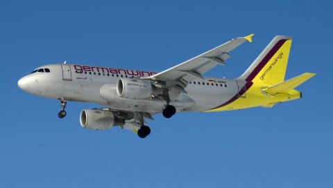 Самолет, небо, полет, германия, d-aknv