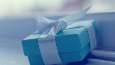 Коробки, подарок, лента