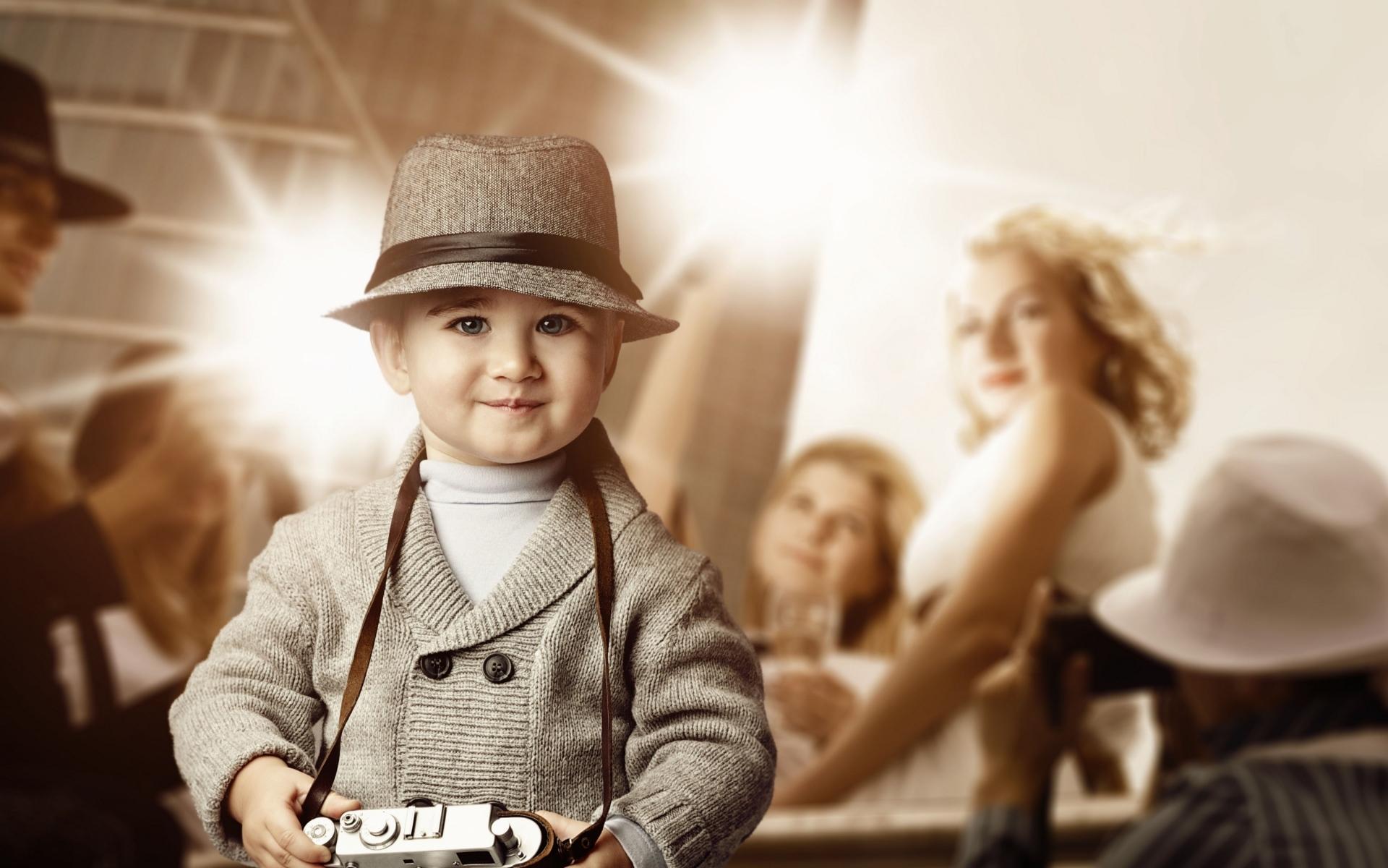 Картинки Ребенок, вечеринка, камера, люди фото и обои на рабочий стол