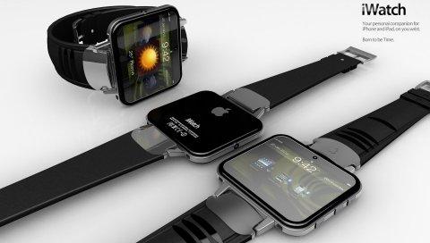 Яблоко, iwatch, наручные часы