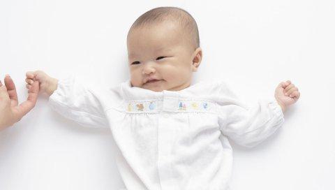 Ребенок, игра, детская одежда, рука
