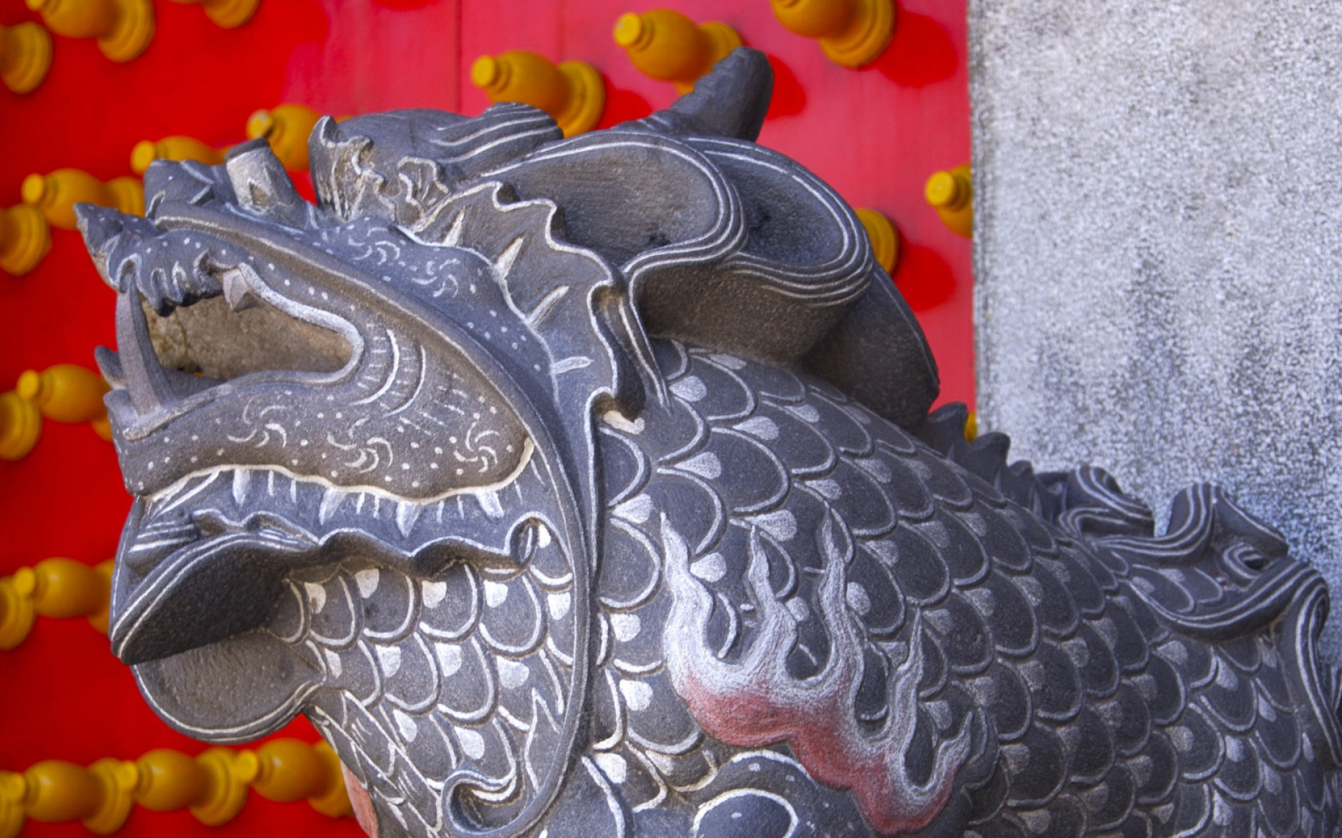Картинки Скульптура, камень, дракон фото и обои на рабочий стол
