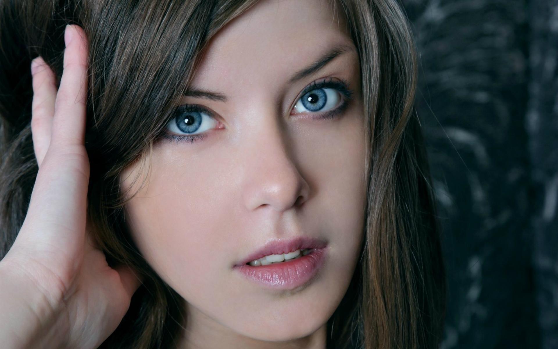 Картинки Голубые глаза, глаза, девушка фото и обои на рабочий стол