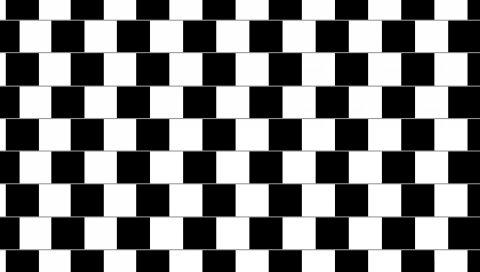 Линия, черный, белый, движение, оптическая иллюзия