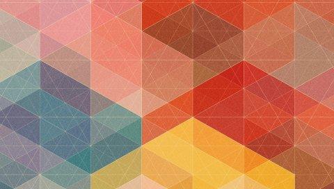 Форма, форма, фон, соединения, разноцветные