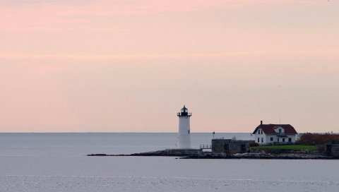Море, дом, маятник, остров