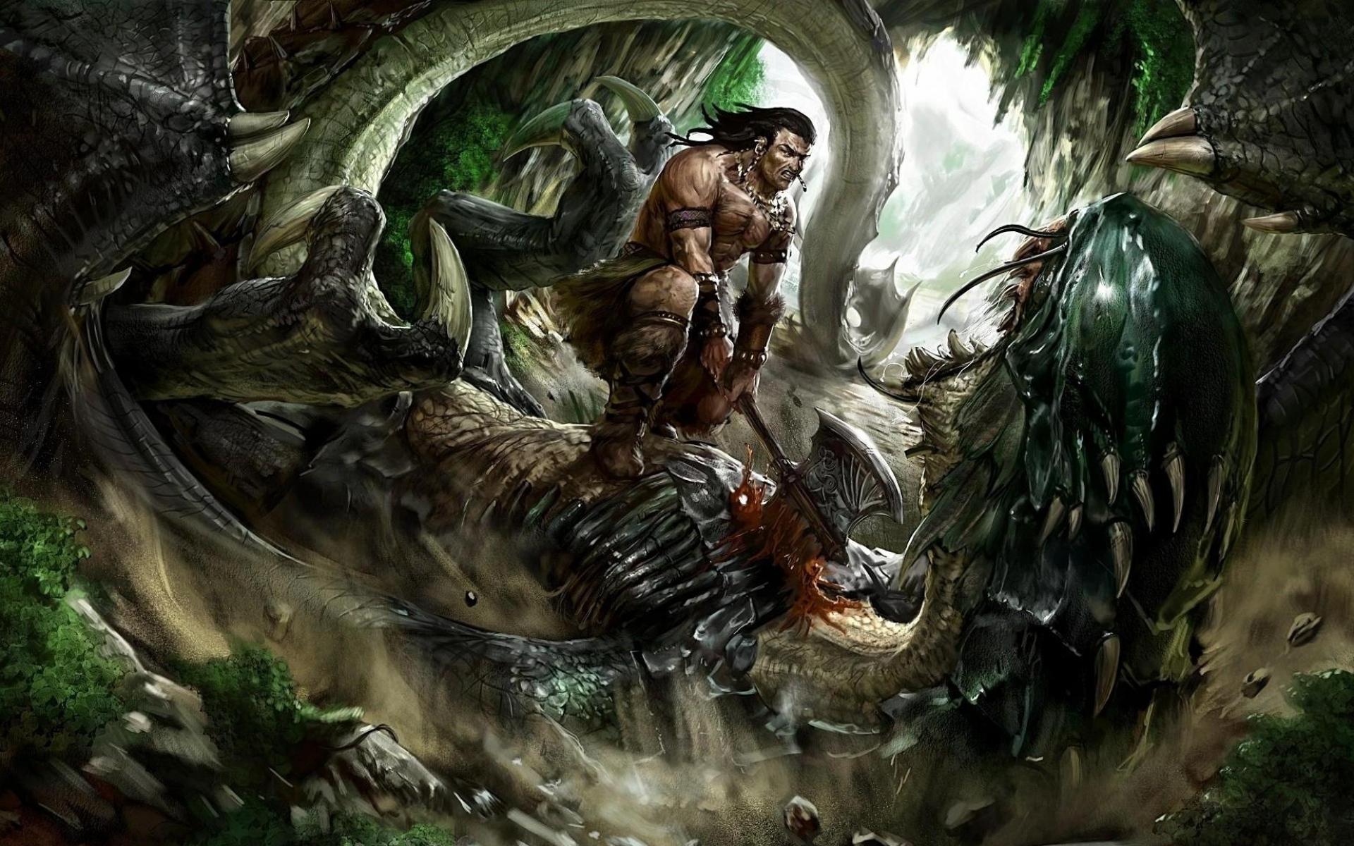 Фото дракона с людьми