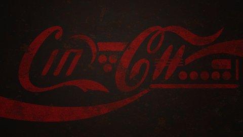 Кока-кола, логотип, напиток, сода
