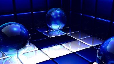 Воздушные шары, неон, поверхность, тень