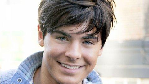 Зак Эфрон, глаза, каштановые волосы, голубые глаза, лицо,