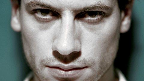 Айон Граффадд, лицо, мужчина, взгляд, крупным планом