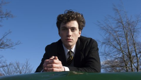 Aaron johnson, брюнетка, взгляд, актер