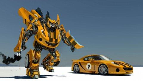 машина, робот, трансформер