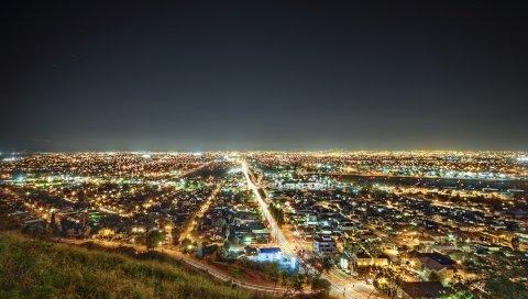 Лос-Анджелес, Калифорния, ночь