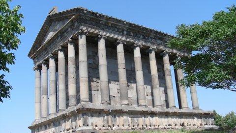 Крепость, историко-архитектурный комплекс Гарни, Армении, Еревана