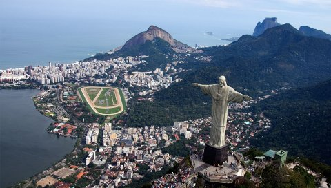 Рио-де-Жанейро, Бразилия, город, океан