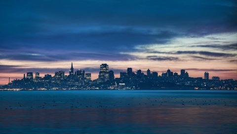Сан-Франциско, Калифорния, ночь