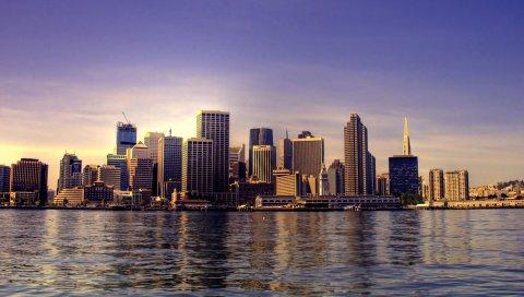 Сан - Франциско, городской пейзаж, здание, калифорния, США