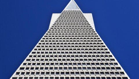 Пирамида трансамерики, сан-франциско, калифорния, США