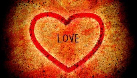 любовь , сердце, чувство, фигурный