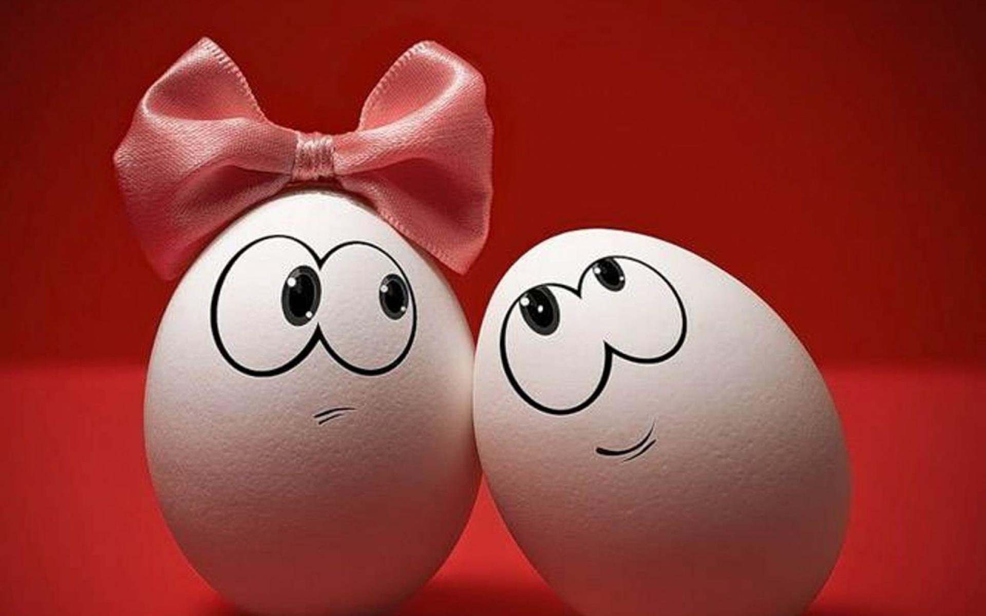 Прикольные открытки с яйцами
